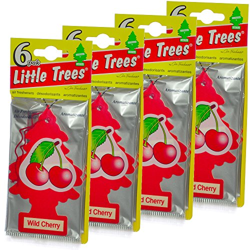LITTLE TREES Car Air Freshener | Hanging Paper Tree for