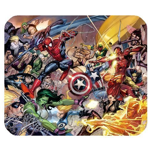 Marvel the Avengers 2 Age of Ultron Personalized Custom Gaming Mousepad Rectangle Mouse Mat / Pad Office Accessory And Gift Design-LL762