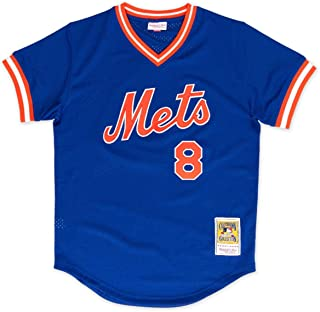 Mitchell & Ness Gary Carter 1986 New York Mets Authentic Mesh BP Jersey