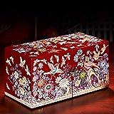 Cxjff Joyero con nácar Lacado Pintado a Mano Joyero con Flor de Mariposa Obra de Arte Muebles Chinos orientales Regalos
