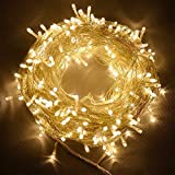 SATYAM KRAFT 50 LED Lights Indoor Outdoor Home Decoration Diwali Light for Party Birthday Christmas Navratri Valentine , 5 m, Yellow
