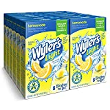 Wyler's Light Singles To Go Powder Packets, Water Drink Mix, 96 Single Servings, Lemonade, 13.08 Ounce (Pack of 12)