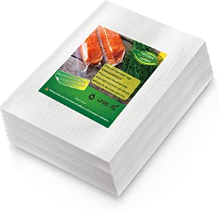 BoxLegend Sac Sous Vide Alimentaire, 100 Sacs 15 x 25cm pour la Conservation des Aliments et la Cuisson Sous Vide, BPA et ...