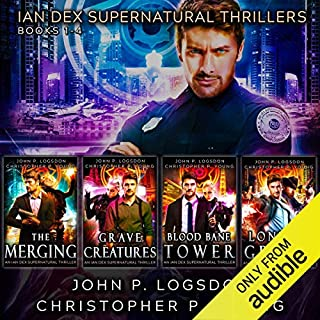The Ian Dex Supernatural Thriller Series: Books 1 - 4 (Las Vegas Paranormal Police Department Box Sets) cover art
