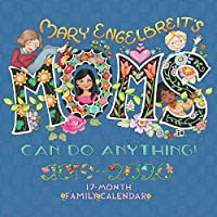 Mary Engelbreit's Moms Can Do Anything! 17-Month 2019-2020 Family Wall Calendar