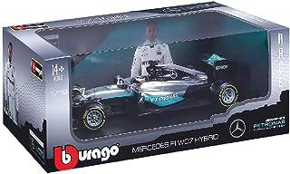 Bburago 15618001R - 1:18 F1 Mercedes AMG Petronas W07 Hybrid (#6 N. Rosberg),