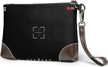 Ahdyr pochette en cuir pour femme Sacs à main Pochette Portefeuilles pour téléphone Vue de l'appareil photo Petits sacs à