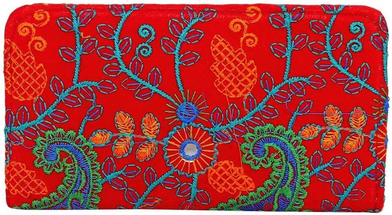 Panchal Creation Wholesale 50 pc lot Bulk Indian Vintage Hand Bag Traditional Bridal Clutch Beaded Shoulder Bag potli Pouch Hand Bag Purses Women Purse by Craft Place M -74