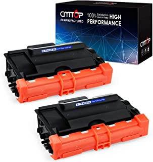 CMTOP 2 Black TN880 TN850 Toner Replacement for Brother TN-880 TN-850 TN-820, High Yield, for Brother HL-L6200DWT L6200DW, MFC-L5900DW, HL-L5200DWT L5200DW L5100DN, MFC-L5800DW L5700DW L6700DW L6800DW