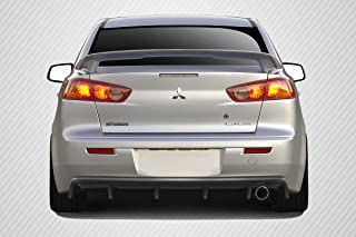 Brightt Carbon Creations ED-PBG-554 M Power Rear Diffuser - 1 Piece Body Kit - Compatible With Lancer 2008-2017