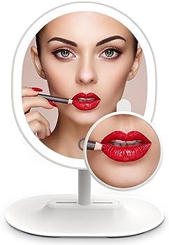 MiroPure 5x Magnifying 16 LED Vanity Makeup Mirror