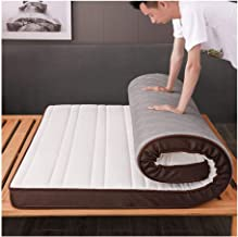 Tatami Mattress, Japanese Futon Tatami Mat Thickened Folding Mattress, Portable Thicken Pad Tatami Floor Mat for Student D...