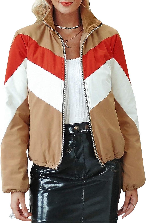 BerryGo Women's Casual Cotton Padded Parka Winter Zipper Coat Warm Anorak Coat