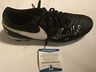 Ronaldo Brazil Madrid Autographed Signed Memorabilia Right Soccer Cleat - Beckett Authentic