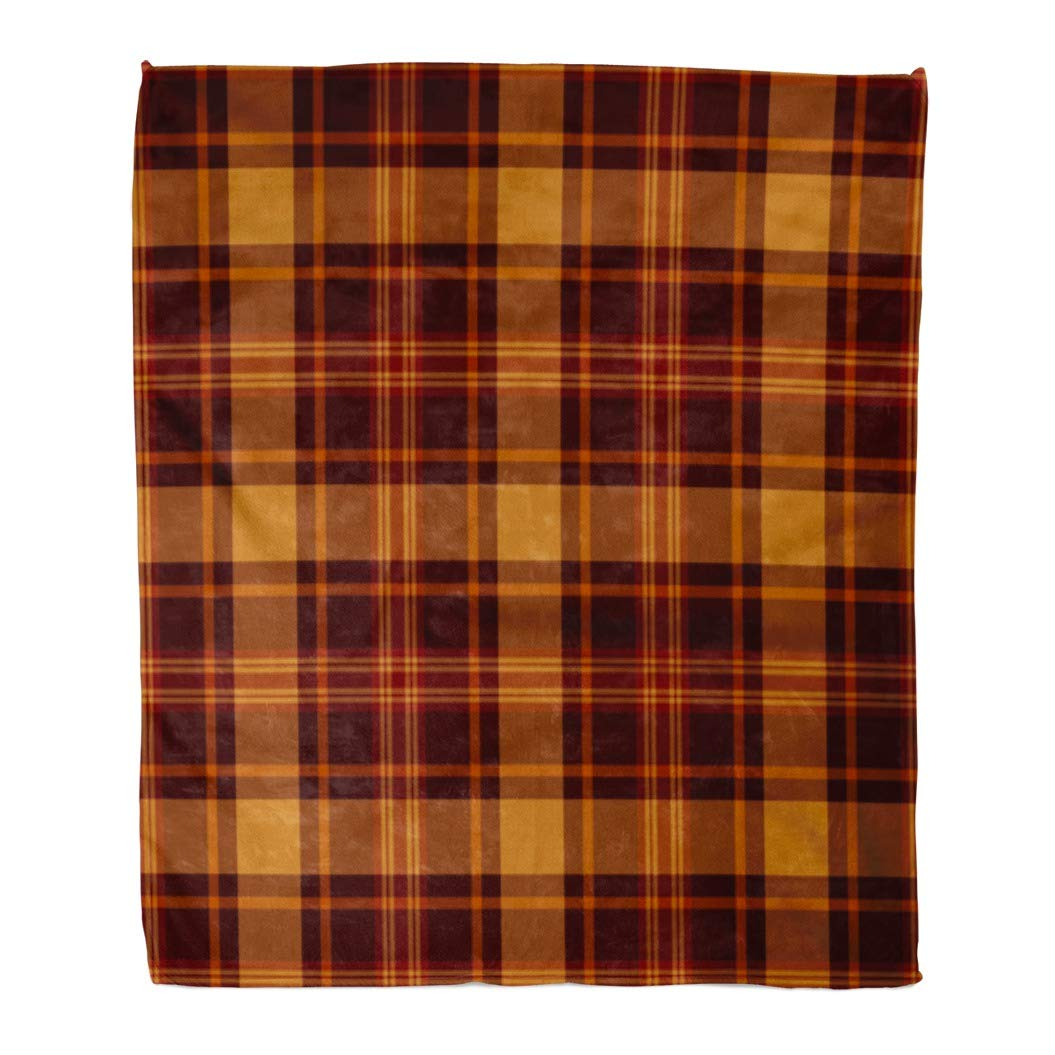 US SELLER-lot of 5 thick soft warm Plaid checkers geomatric men/'s winter scarves