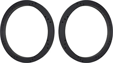 """8"""" Subwoofer Speaker Spacers Depth Extender Extending Rings - 3/4"""" thick - ID: 7 1/8"""" OD: 8 7/8"""" - 1 Pair - SSK8XK - Stackable - Perfect For Framing Fiberglass Enclosures"""