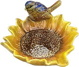 BLANCHO BEDDING Multipurpose Ceramic Shower Soap Dish/Creative Soap Holder/Jewelry Decorative Dish/Ashtray (Bird-2)