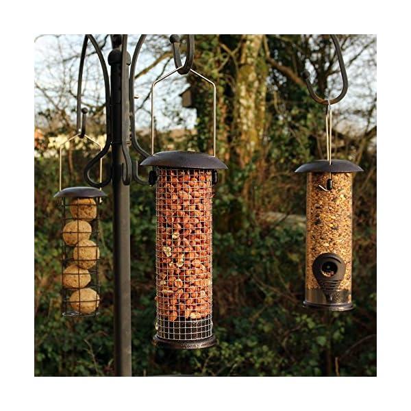 Easipet Hanging Wild Bird Feeder set of 3 Seed Nut Fat Ball Garden Feeding Station
