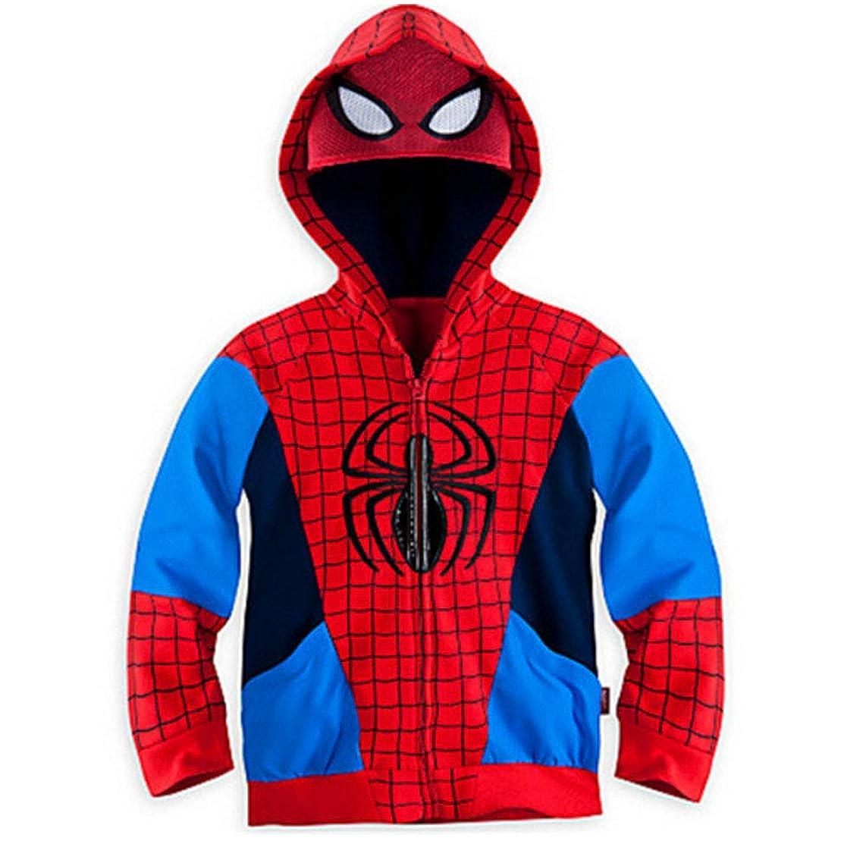 Hoodies Superhero Iron Man Hulk Captain America Spiderman Sweatshirt for Boys