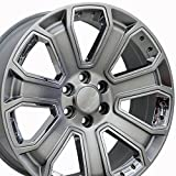OE Wheels LLC 22 Inch Fit Chevy Silverado Tahoe...