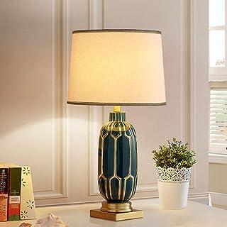 Diaod American Minimaliste Céramique Table Lampe Chambre Mariage Creative Moderne Nordic Lumière Luminaire Luminaire Lampe...