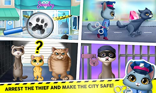 『Kitty Meow Meow City Heroes - The Brave and the Fluffy! Cats to the Rescue!』の5枚目の画像