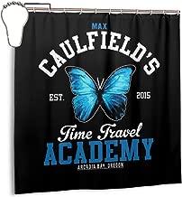 ENXIANGXIJ Waterproof Polyester Fabric Shower Curtain Academies Life is Strange Max Caulfields Time Travel Print Decorative Bathroom Curtain with Hooks,72
