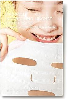 COSRX Propolis Nourishing Magnet Sheet Mask 21ml / 0.71 fl.oz | Honey Face Mask | Korean Skin Care, Cruelty Free, Paraben ...