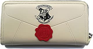 Women's Wallets Compatible for Harry Potter Hogwarts Long Zipper Wallet Credit Card Holder