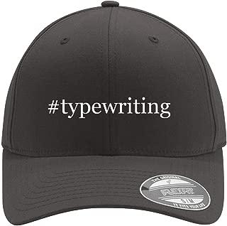 #typewriting - Adult Men's Hashtag Flexfit Baseball Hat Cap