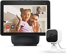 All-new Echo Show 10 (3rd Gen)   Charcoal with Blink Mini...