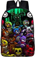 MaeFte Five Nights at Freddy's Color Printed Backpack Rucksack School Bags For Kid (A)