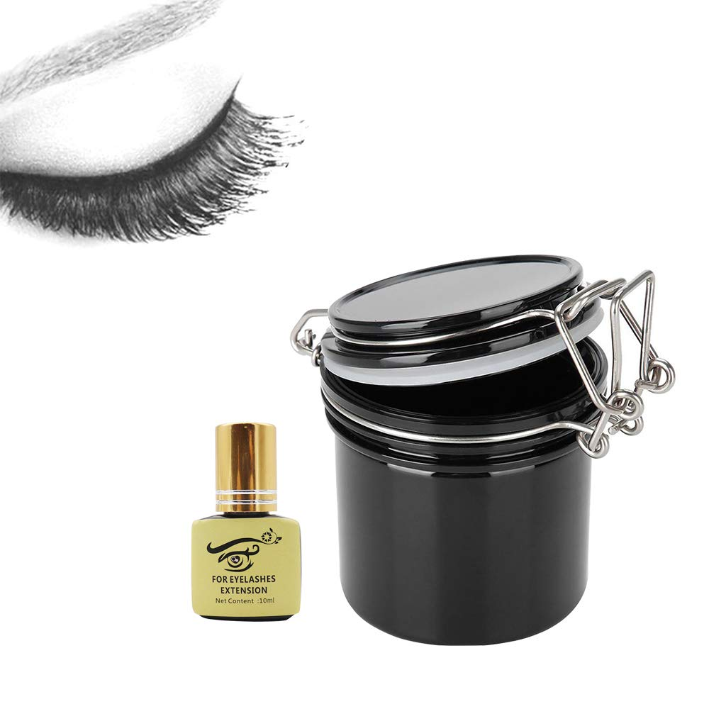 Oakland Mall Eyelash Extensions Supplies Wholesale Lash Activated Carbon Glue Container