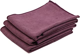 a17032400ux1134 1 Pack Purple Synthetic Chamois Car Vehicle Dry Washing Cloth Cleaning Towel 43 x 32cm Cloths & Towels