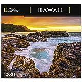 National Geographic Hawaii 2021 Wall Calendar