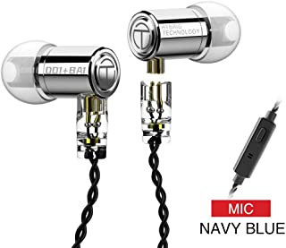 $21 » TRN M10 in Ear Monitor Earphones with Customized Balanced Armature and 8mm Dynamic Driver, 1BA 1DD Metal IEMs with Origina...