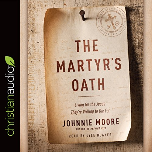 The Martyr's Oath audiobook cover art