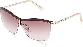 GUESS Unisex's GU7471 28Y 00 Sunglasses, Oro Rosã Lucido\Viola