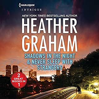 Shadows in the Night and Never Sleep with Strangers audiobook cover art