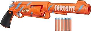 Lança Dardos Nerf Fortnite 6-SH, Envelopamento Camo Pulse e Tambor Giratório - F2684 - Hasbro