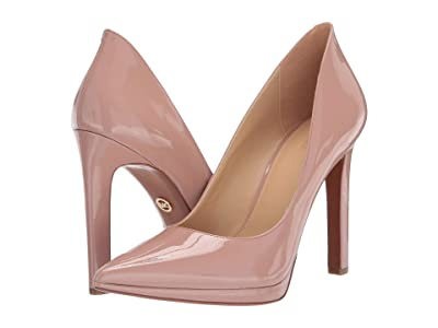MICHAEL Michael Kors Brielle Pump (Tuscan Rose Patent) Women
