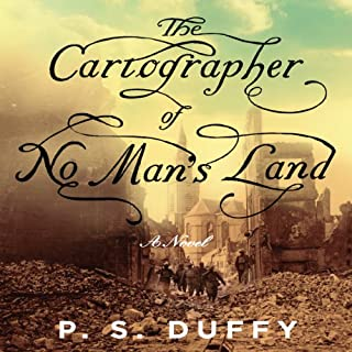 The Cartographer of No Man's Land audiobook cover art