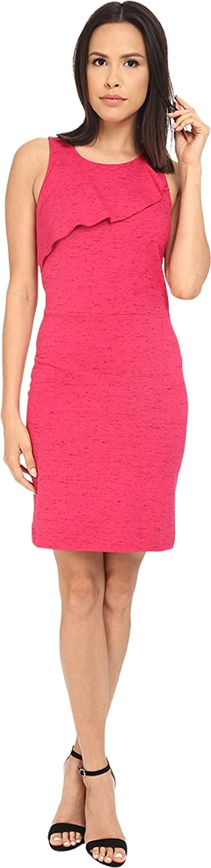 kensie Ruffle-Detail Sheath Dress XS