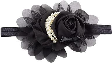 LD DRESS Lovely Rhinestone Unusual Angel Girls Baby Pearl Flowers Hairband Headbands