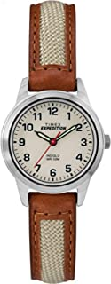 Timex Women's Quartz Watch, Analog Display and Leather Strap TW4B11900