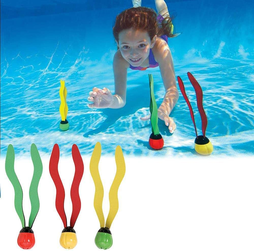 Houchu 3Pcs Set Diving Seaweed Kids Toy Grab Underwater Max 62% OFF Dive Direct store