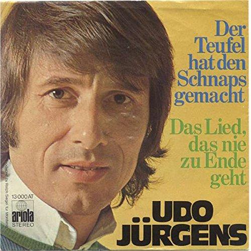 Udo Jürgens - Der Teufel Hat Den Schnaps Gemacht - Ariola - 13 000 AT
