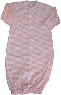 Simple Stripes Converter Gown - Pink