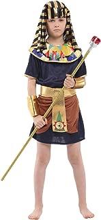 (上海物語)Shanghai Story ハロウィン コスプレ メンズ 仮装 男の子 ファラオ コスプレ エジプト 王様 王子様 戦士 コスチューム Cosplay イベント パーティー サイズ L