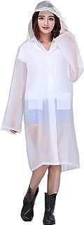 Dryon Women's Overcoat|Raincoat (Transparent)